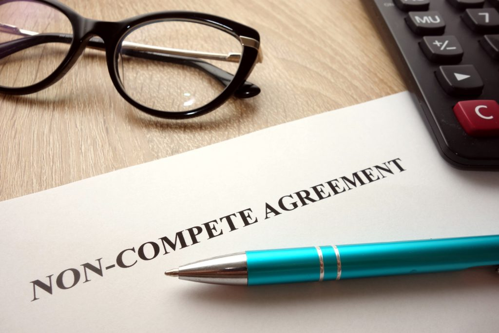 Digital Forensics and Non-compete agreement